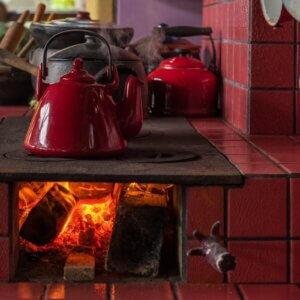 masonry wood stove