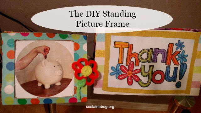 The DIY Picture Frame Made From A Cardboard Box
