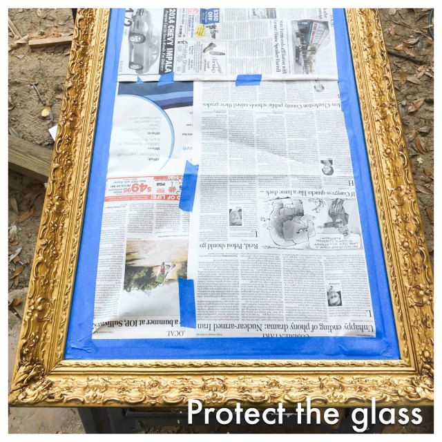 Upcycling That Old Mirror And Frame Into A New One