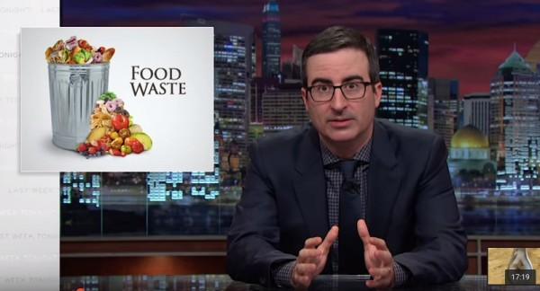 This John Oliver food waste segment is a must-see!