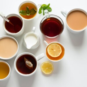 homemade tea blends
