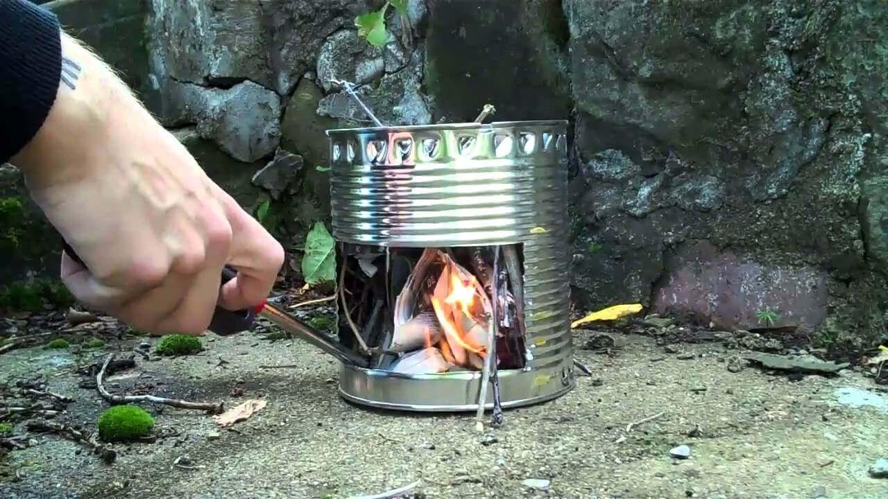 The Diy Hobo Stove Nine Plans Rocket Diagram Oven Fireplace Earthen Pint