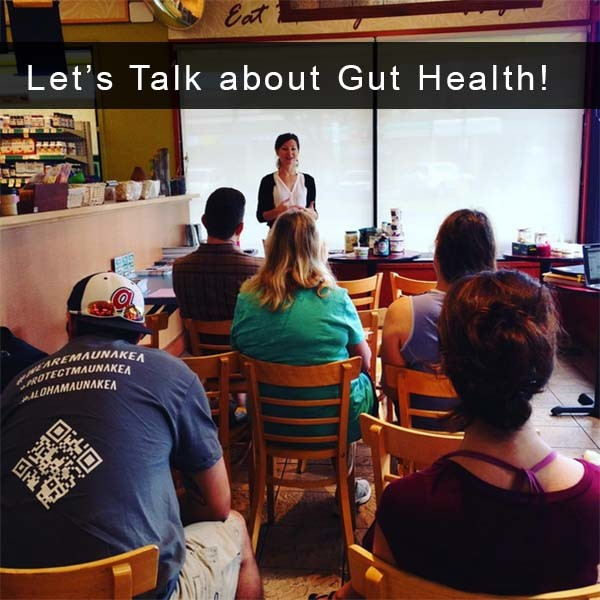 Let's talk about one of my favorite topics: digestion, probiotics, and gut health!