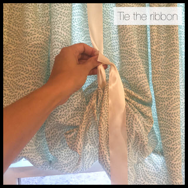 tie the ribbon