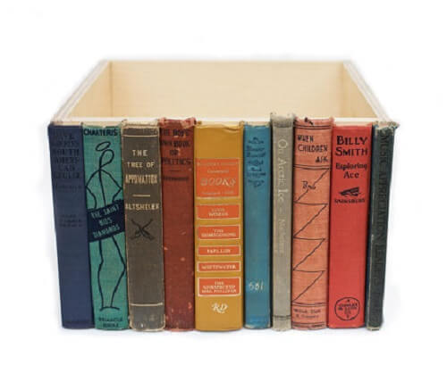 books as furniture