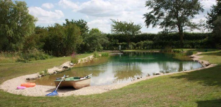 Natural pools or swimming ponds insteading for Natural pool design