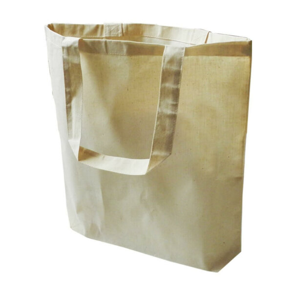 12 Pack Eco Friendly Natural Cotton Canvas Tote Bag