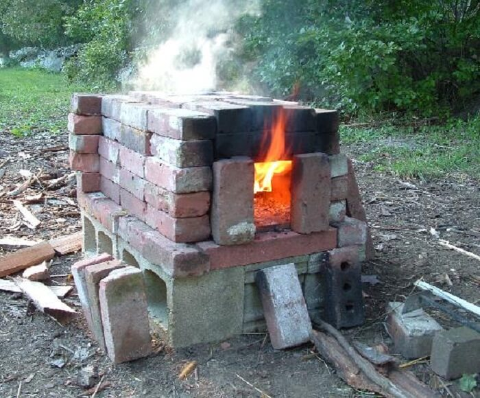 how to brick pizza oven