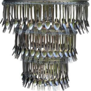 Fork spoon Chandelier