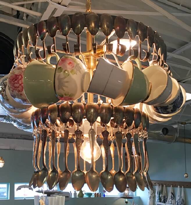 Spoon Chandelier