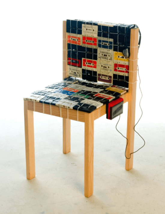 cassette chair