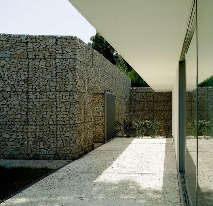 gabion stone building