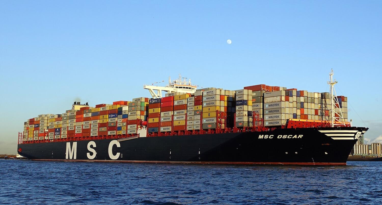 MSC Oscar container ship
