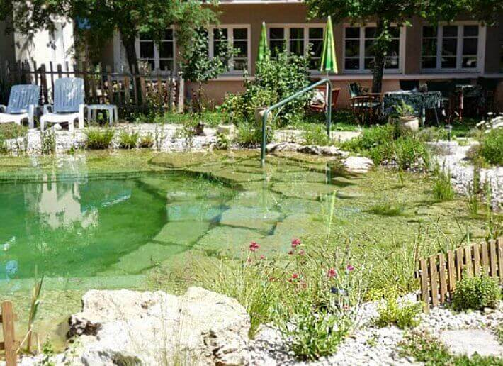 7) Natural Swimming Pool Ecological