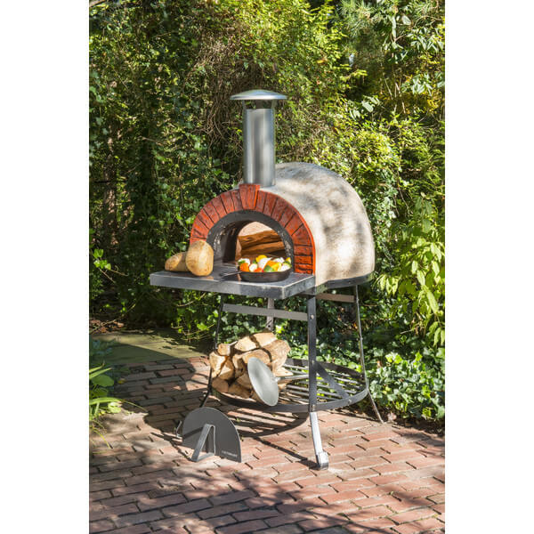 Rustic Wood Fired Oven - Faux Brick Front by Rustic Cedar