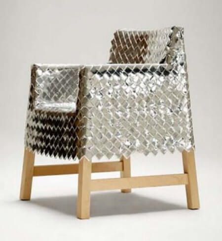 candy wrapper chair