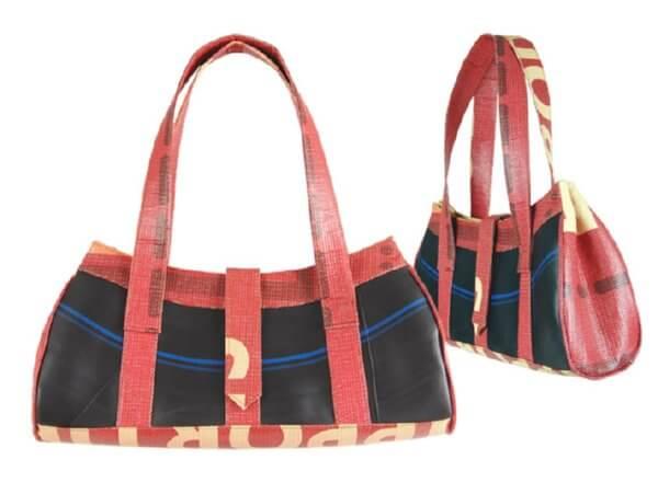 inner tube handbag