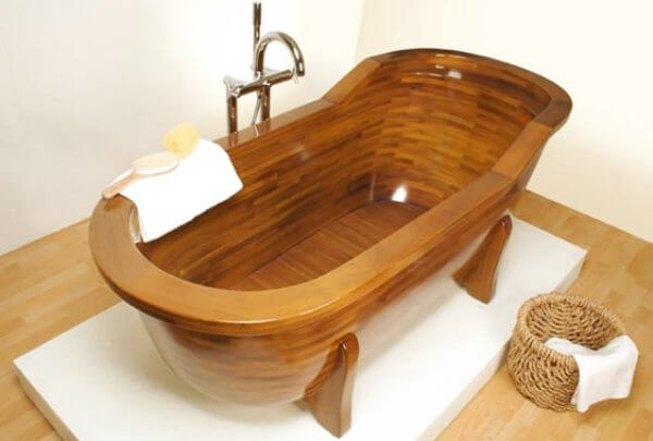 Wooden Bathtubs • Insteading