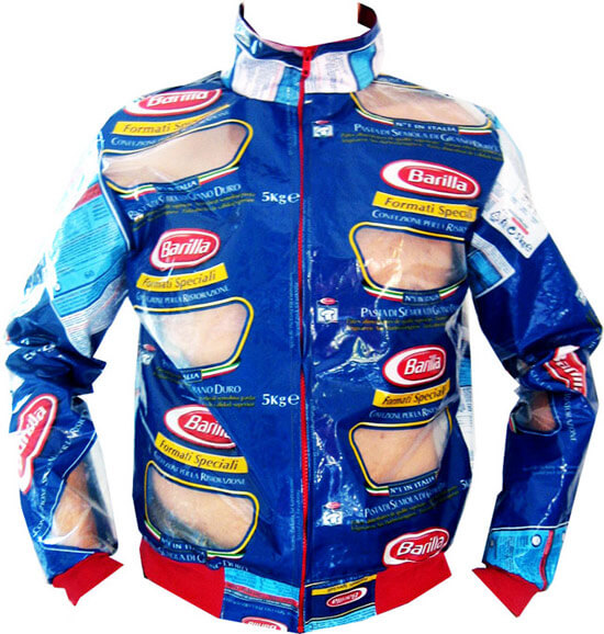 plastic bag jacket