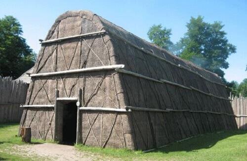 bark longhouse