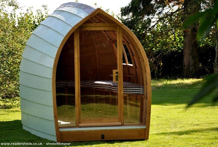 boat shaped shed