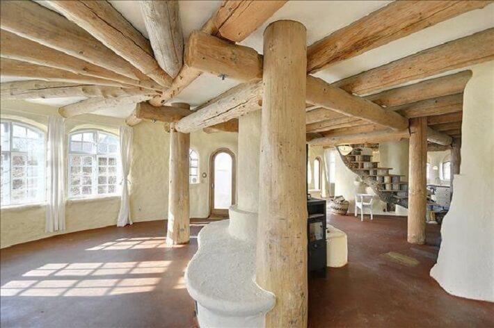 Cob House Interiors • Insteading
