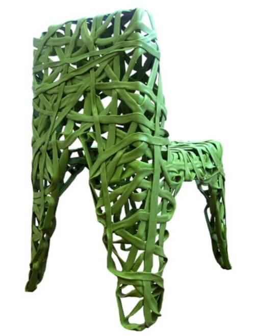 recycled plastic chair