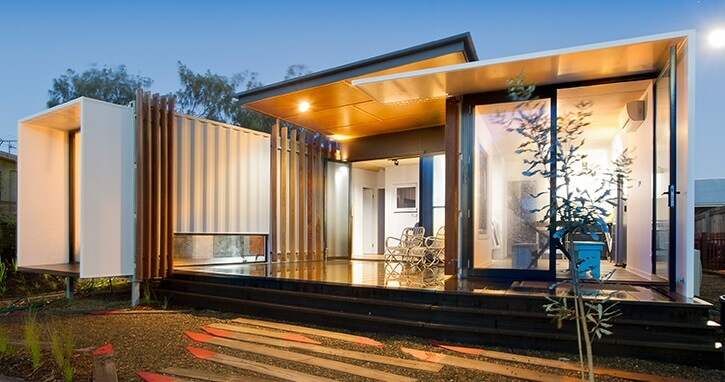 This container home was built in Japan using plants to soften the harsh exterior of the building. Living In Container explains that the building combines ... & Shipping Container Homes u2022 Insteading