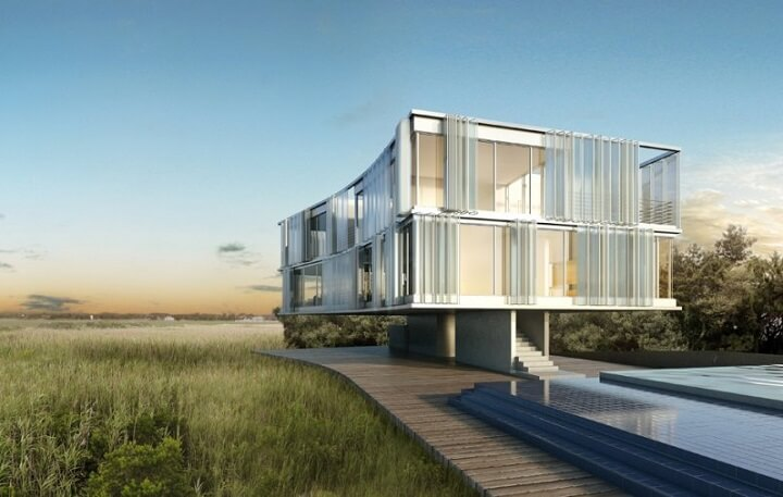 House On Stilts ...