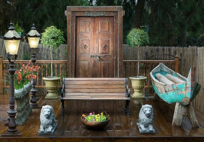 outdoor garden doors