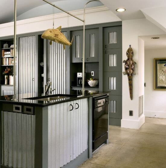 Corrugated Metal Ideas For The Home Insteading