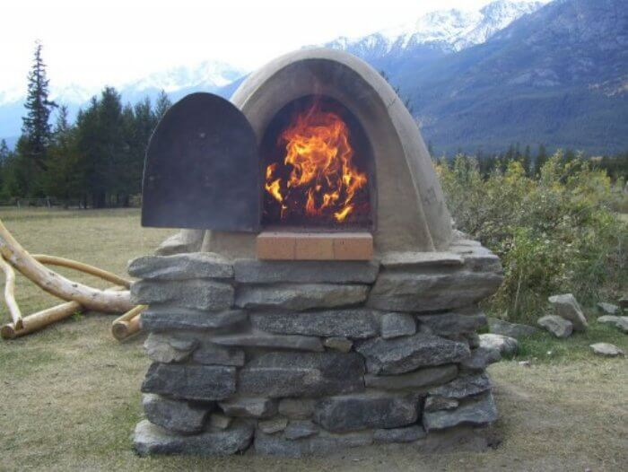 Outdoor Earth Ovens Insteading