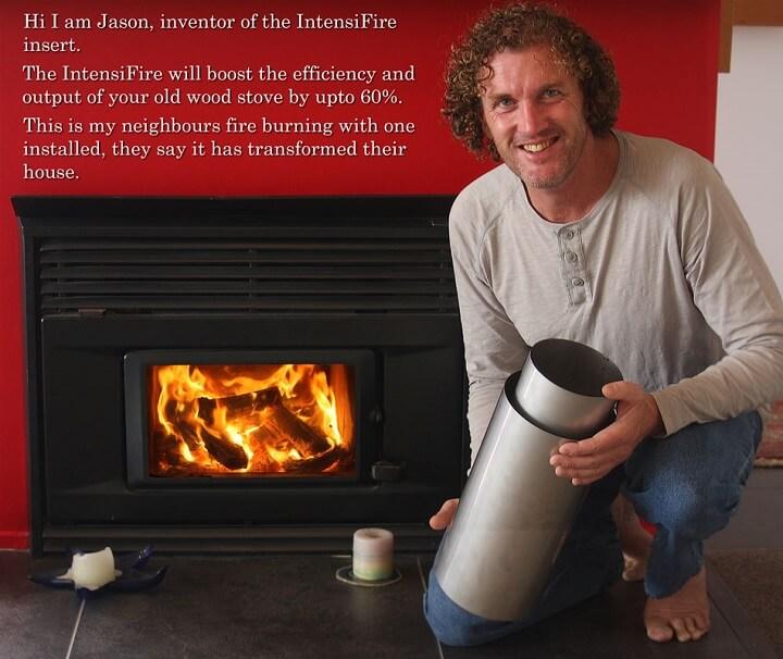 wood stove insert