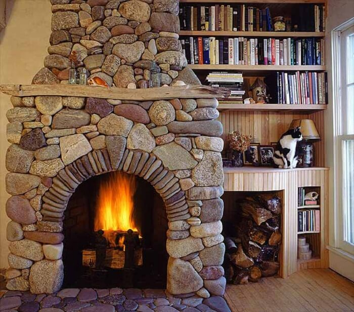 river rock fireplace u2022 insteading rh insteading com pictures of stone fireplaces with tv above pictures of stone veneer fireplaces