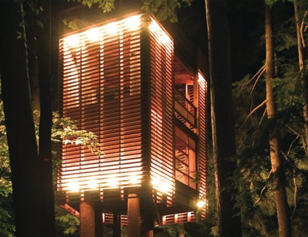 slat tree house