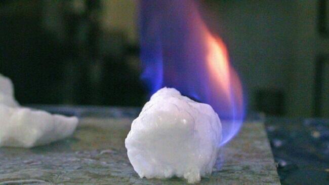 flammable ice