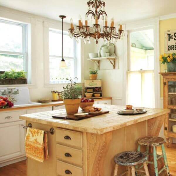 recycled kitchen