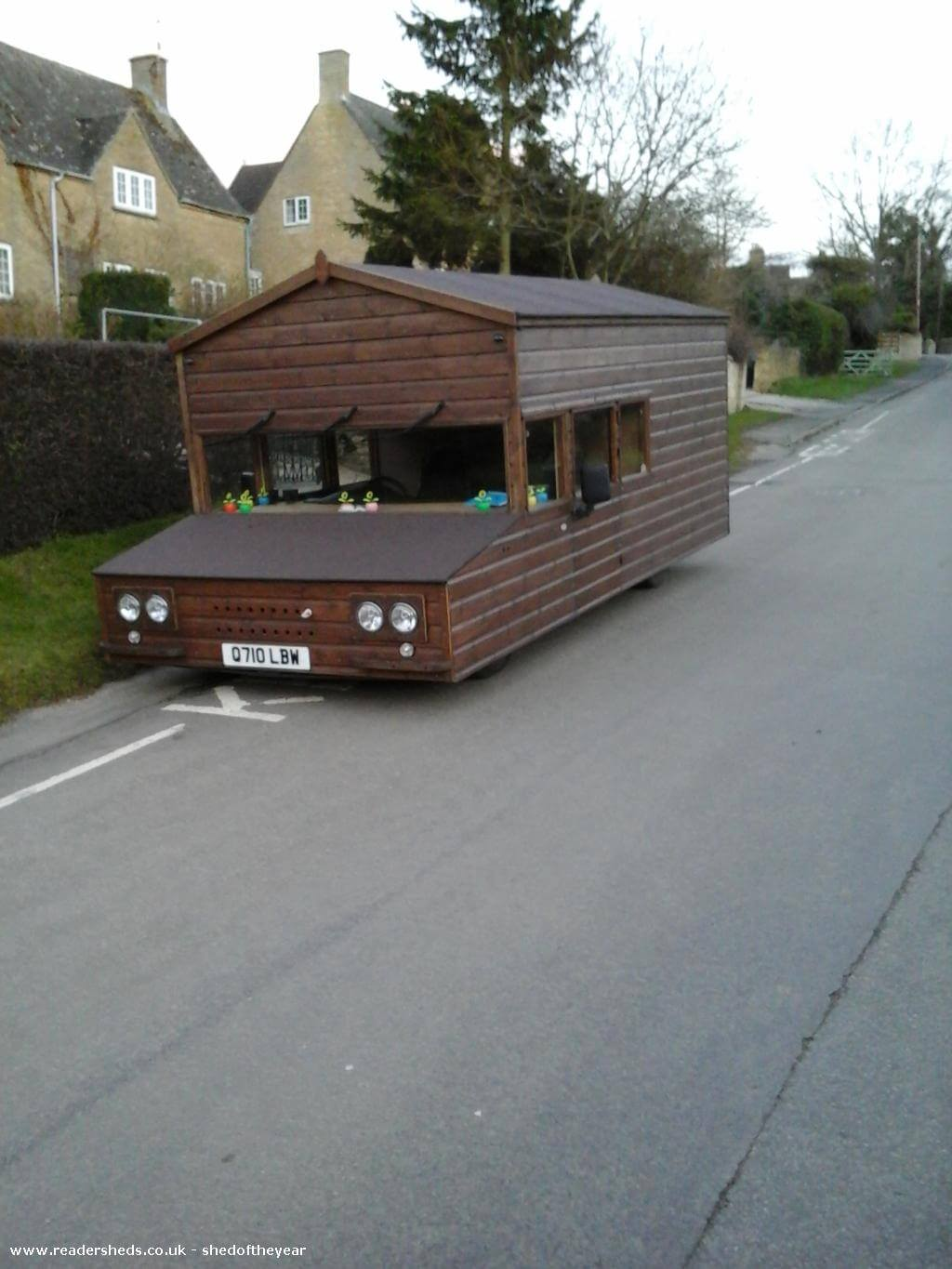 Shed of the Year 2016 Finalist:  Unique Fastest Shed