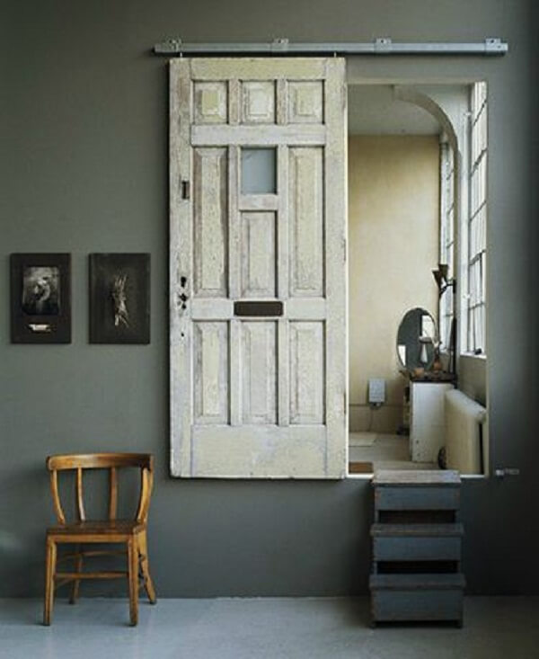 old door recycled