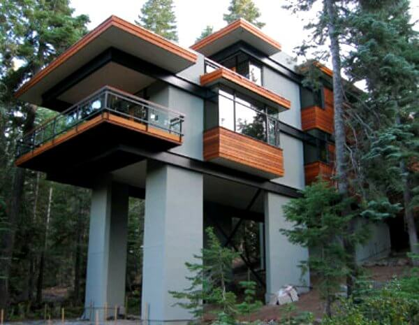steel tree house