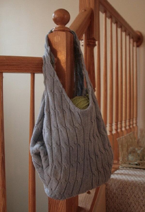 sweater handbag