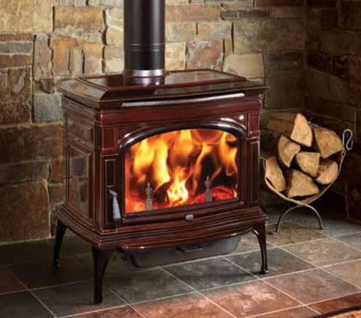 Wood stove decathlon insteading for Small efficient wood stoves