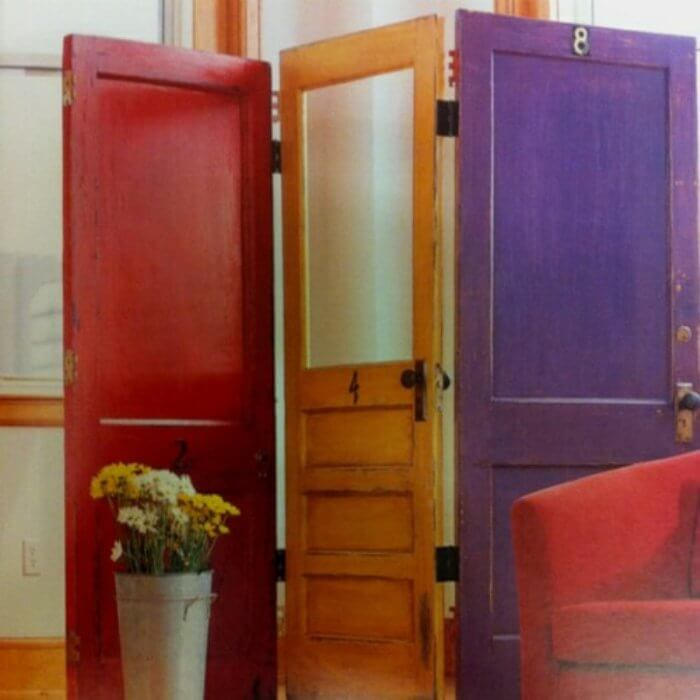reuse of old doors