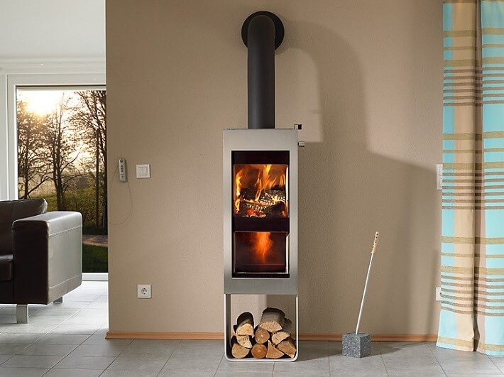 twin fire wood stove