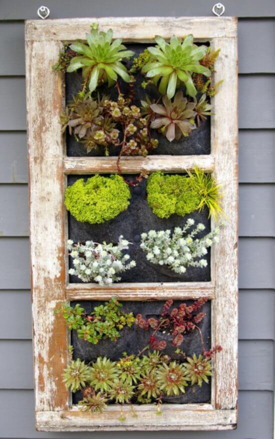 wood shutter reuse