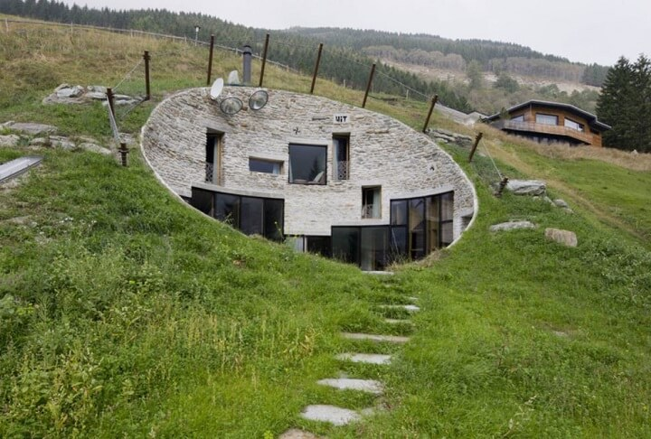 Underground Houses Part - 21: Underground House