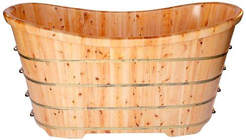 wooden-bath-tub-cedar