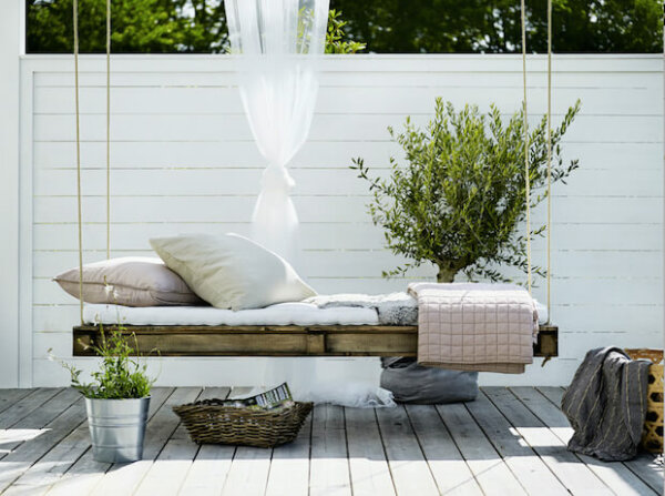 Dressed Up Outdoor Bed