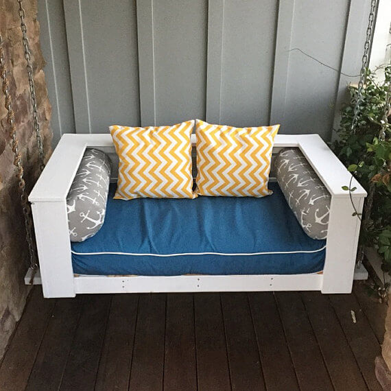 crib-mattress-porch-swing