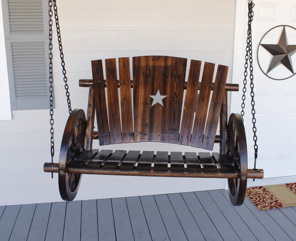 wagon-wheel-porch-swing